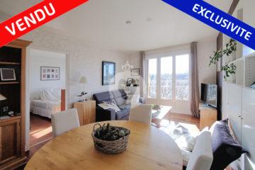 Un T3 de 61 m² avenue Raspail dans le quartier des Muriers à La Varenne vendu en juillet 2020 par Eric Janvier