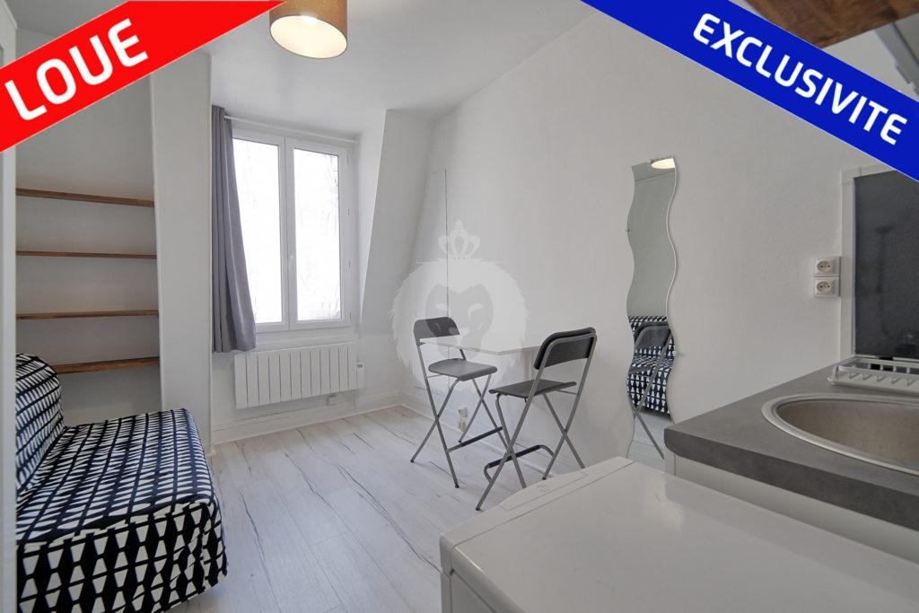 studio a louer Paris 5 king immobilier