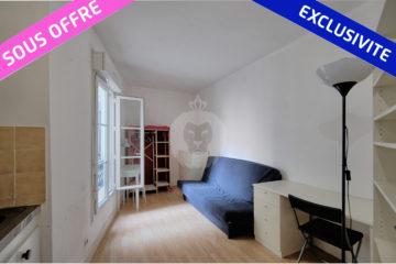 offre reçue et acceptée par king immobilier les muriers studio a Paris