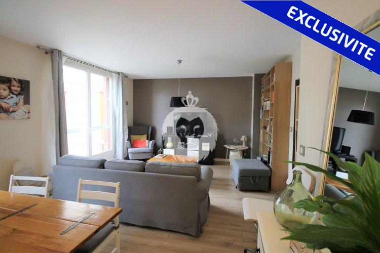 Double séjour d'un bel appartement traversant à Champigny sur Marne, par Isilda SILVA