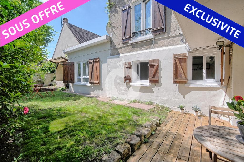 Appartement T2 en rez de jardin sans vis a vis a Le Perreux sur Marne