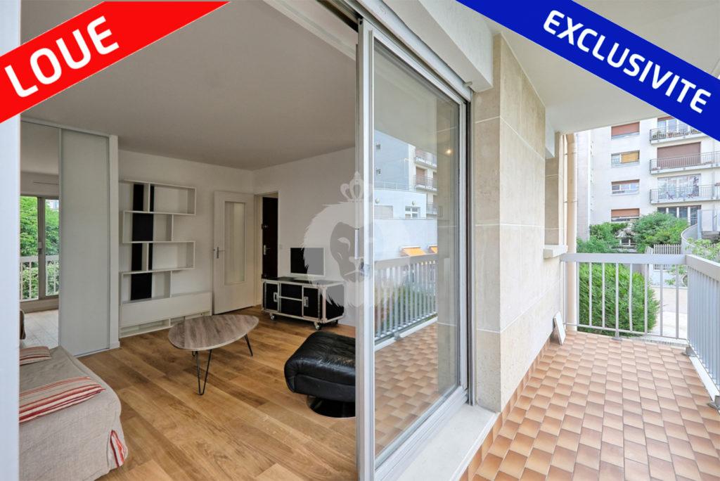 Grand T1 avec Balcon a Paris 13 par King immobilier